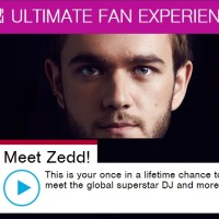MTV Ultimate Fan Experience Meet Zedd