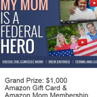 My Mom is a Federal Hero Contest