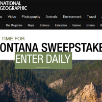National Geographic It's Time for Montana Sweepstakes