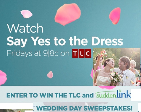 Tlc Sudden Link Wedding Day Sweepstakes Sweeps Maniac