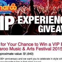 Bonnaroo VIP Experience Giveaway