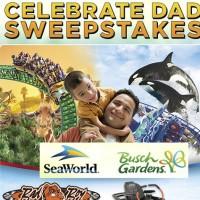 Celebrate Dad Sweepstakes 2015 Sea World
