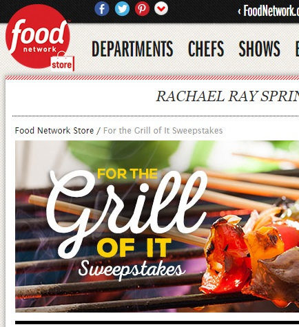 Food Network Grilling Sweepstakes