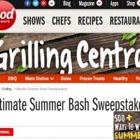 Food Network Ultimate Summer Bash Sweepstakes