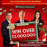 PCH Win over $2 Million then 10k a month for life