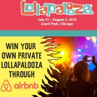 Airbnb Lollapalooza Sweepstakes
