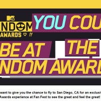 MTV Fandom Awards Sweepstakes