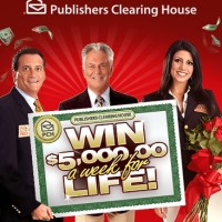PCH Win $5000 a week for life Sweepstakes