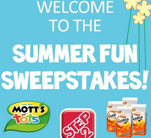 Step 2 Welcome to Summer Fun Sweepstakes - Sweeps Maniac