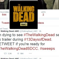 The Walking Dead 13 Days of Dead Sweepstakes
