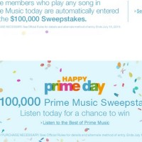 Happy Prime Day Prime Music Sweepstakes