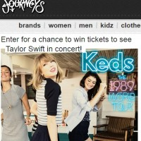 Keds Taylor Swift Sweepstakes
