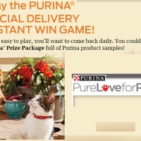 Purina Special Delivery Instant Win Game