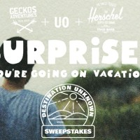 Urban Outfitters Destination Unknown Sweepstakes