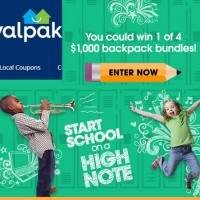 Valpak Start School on a High Note Sweepstakes