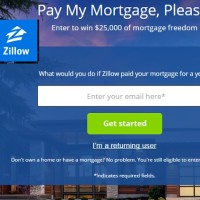 Zillow Pay My Mortgage Please Sweepstakes