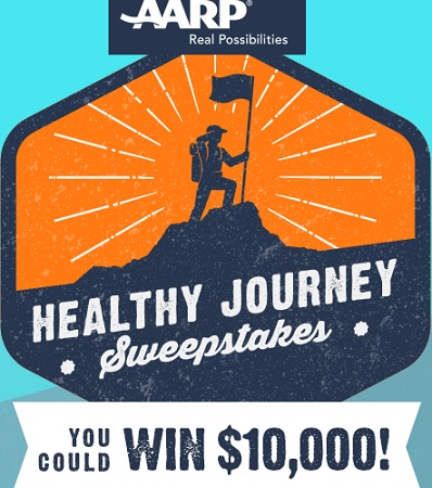 AARP Healthy Journey Sweepstakes