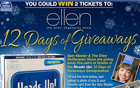 Ellen giveaway winners
