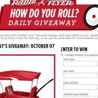 Radio Flyer How do you roll? Daily Giveaway