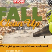 Ryobi Fall Clean Up Sweepstakes