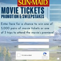 The Good Dinosaur Sweepstakes Sun Maid