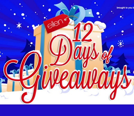 HOW TO GET ON ELLENS 12 DAYS OF GIVEAWAYS