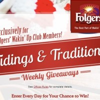 Folgers Tidings & Traditions Giveaways