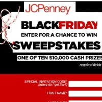 JCPenney Black Friday Sweepstakes