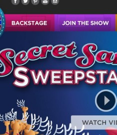 Wheel of Fortune Secret Santa Sweepstakes 2015