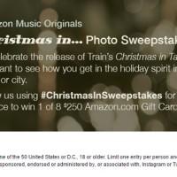 Amazon Music Originals Christmas in Photo Sweepstakes