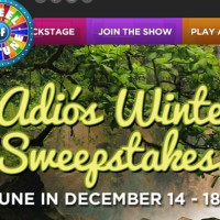 Wheel of Fortune Adios Winter Sweepstakes