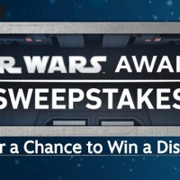Disney Star Wars Awakens Sweepstakes