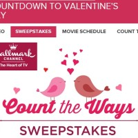 Hallmark Channel Count the Ways Sweepstakes