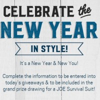 Men's Warehouse Celebrate the NEw Year in Style Sweepstakes