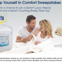 Serta Wrap Yourself in Comfort Sweepstakes