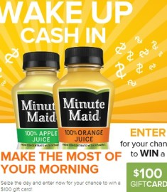 Minute Maid Own the Morning Sweepstakes