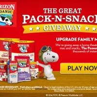 Horizon Organic The Great Pack-N-Snack Giveaway