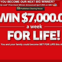 PCH Win $7000 a Week for Life Sweepstakes