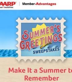 AARP Summer's Greetings Sweepstakes