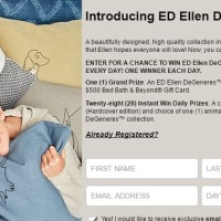 Bed Bath & Beyond ED Ellen DeGeneres Sweepstakes
