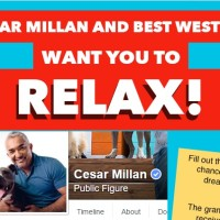 Cesar Millan and Best Western Dream Dog Vacations Sweepstakes