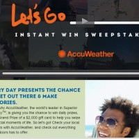Let's Go Instant Win Sweepstakes