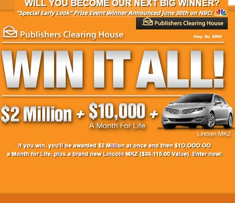 Home » Publishers Clearing House Dream Home Giveaway 2015