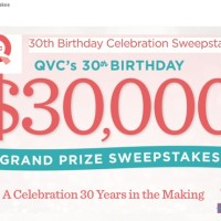 QVC 30th Birthday Celebration Sweepstakes
