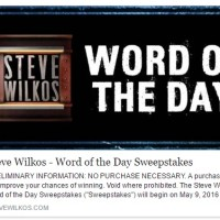 Steve Wilkos Word of the Day Sweepstakes