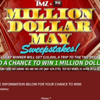 TMZ Million Dollar May Sweepstakes