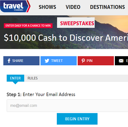 free online sweepstakes to win money
