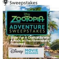 Disney Zootopia Adventure Sweepstakes