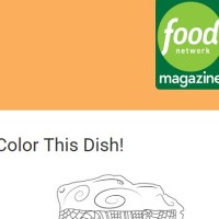 Food Network Color This Dish Sweepstakes