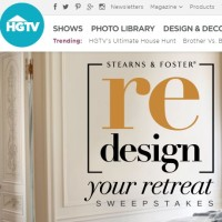 HGTV Redesign your retreat Sweepstakes